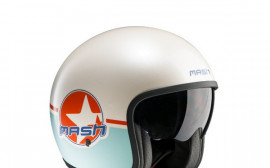 Casque Bleu/Orange